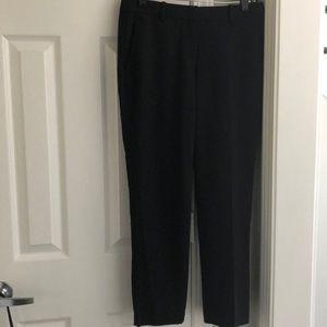 Theory Classic Ankle Pant Slim Leg w/Pockets Black